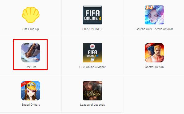 top up free fire pakai kiosgamer.co.id