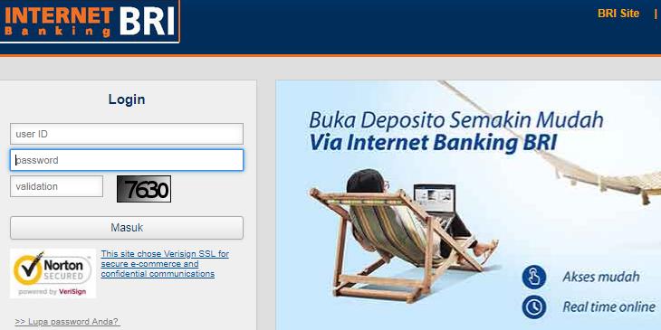 cara daftar internet banking bri di atm