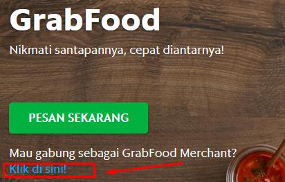cara mendaftarkan warung di grab food dan go food