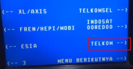 pilih Telkom jika pingin bayar indihome via bank bni