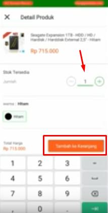cara beli barang lewat aplikasi tokopedia