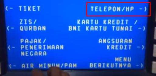 lalu pilih Telepon
