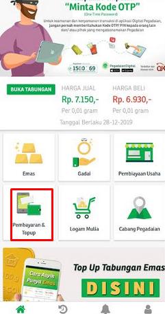 bayar pegadaian lewat mandiri online