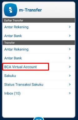 cara pembayaran bfi finance lewat m banking bca