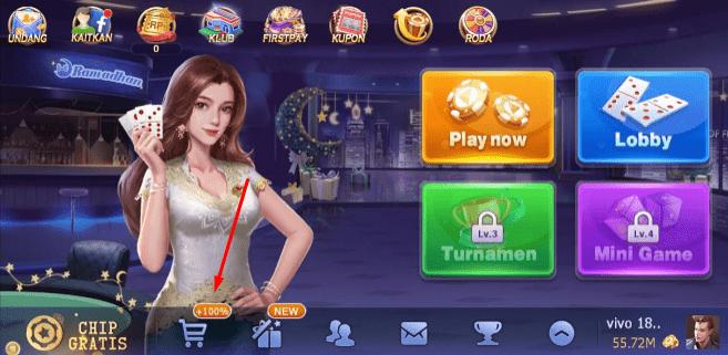 Cara Membeli Chip Domino Qiu Qiu Dengan Pulsa Indosat - Lengkap