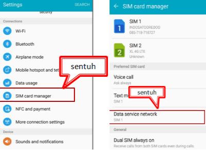 Cara Memindahkan Data Seluler Ke SIM 2 Samsung