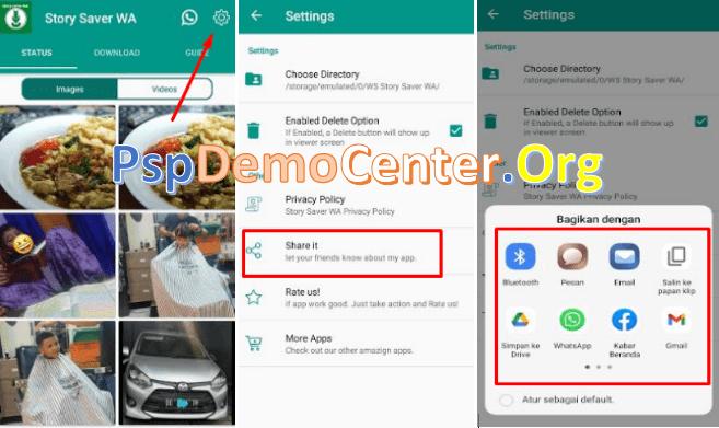 cara mengirim aplikasi android yang sudah terinstal