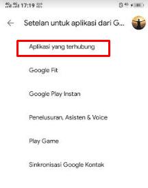 aplikasi yang terhubung