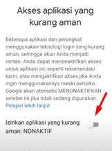 login ff lewat akun google