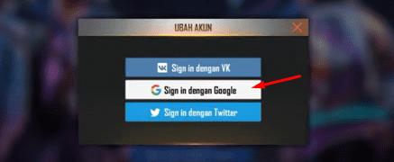 Tidak Bisa Login Ke FF Dengan Akun Google