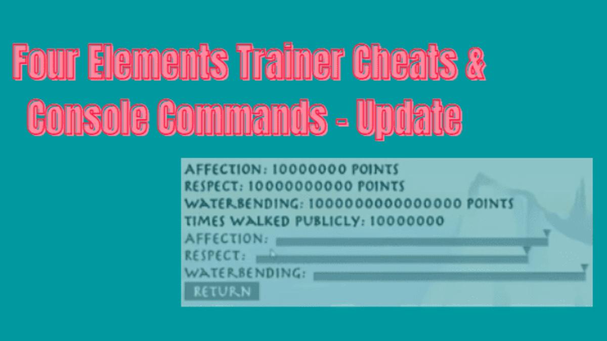 four elements trainer