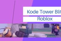 kode tower blitz roblox terbaru update