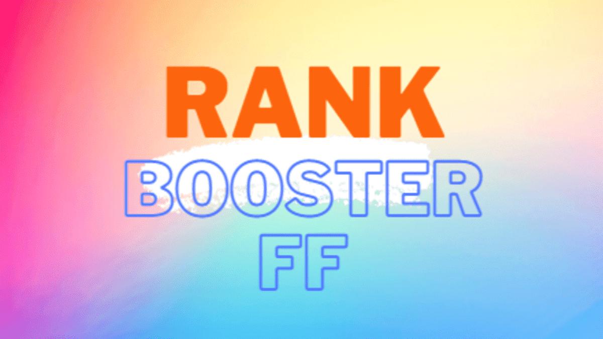 rank booster ff